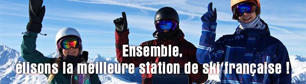 Votez pour la meilleure station de ski française !
