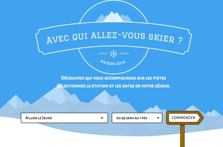 Avec qui allez vous skier ?