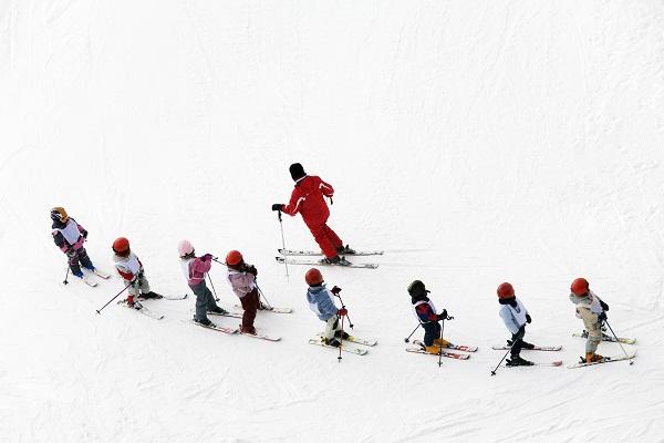 moniteur ski enfants