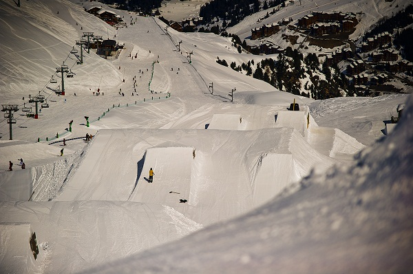 Snowpark Méribel