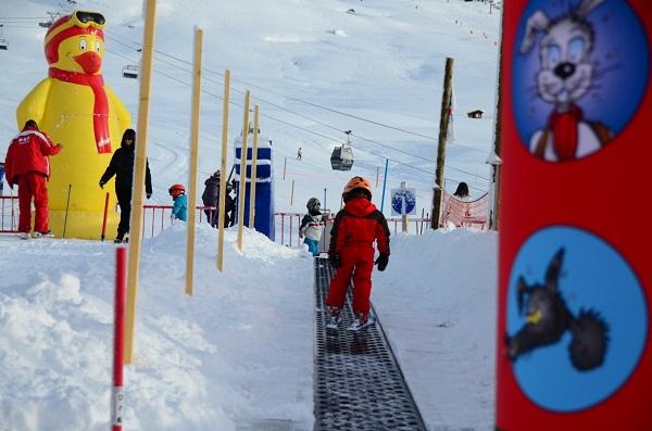 Tapis ski enfant