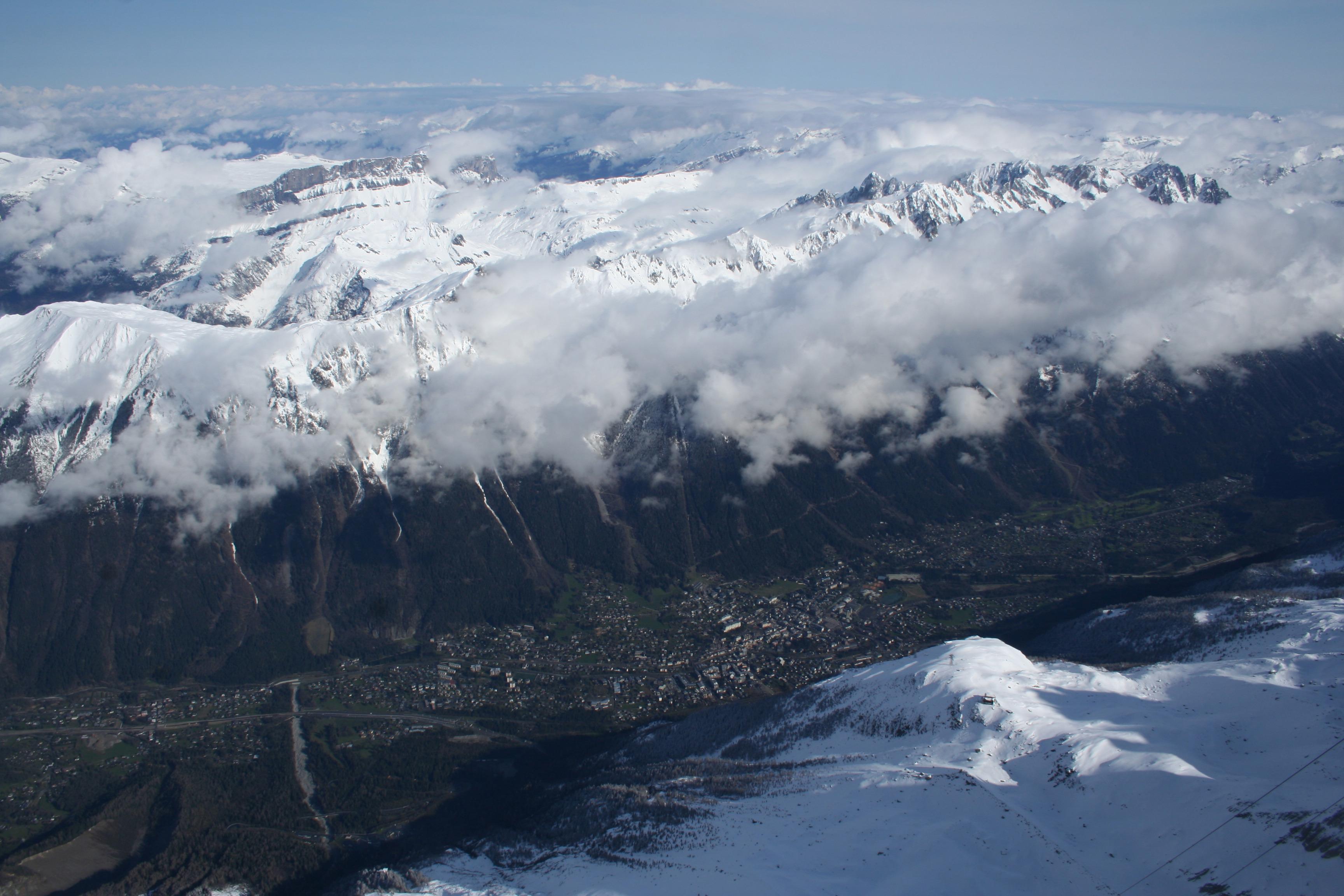 Chamonix, vallée, station de ski