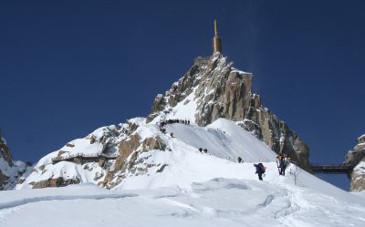 Aiguille du midi - Chamonix (© Armelle Solelhac - SWITCH)