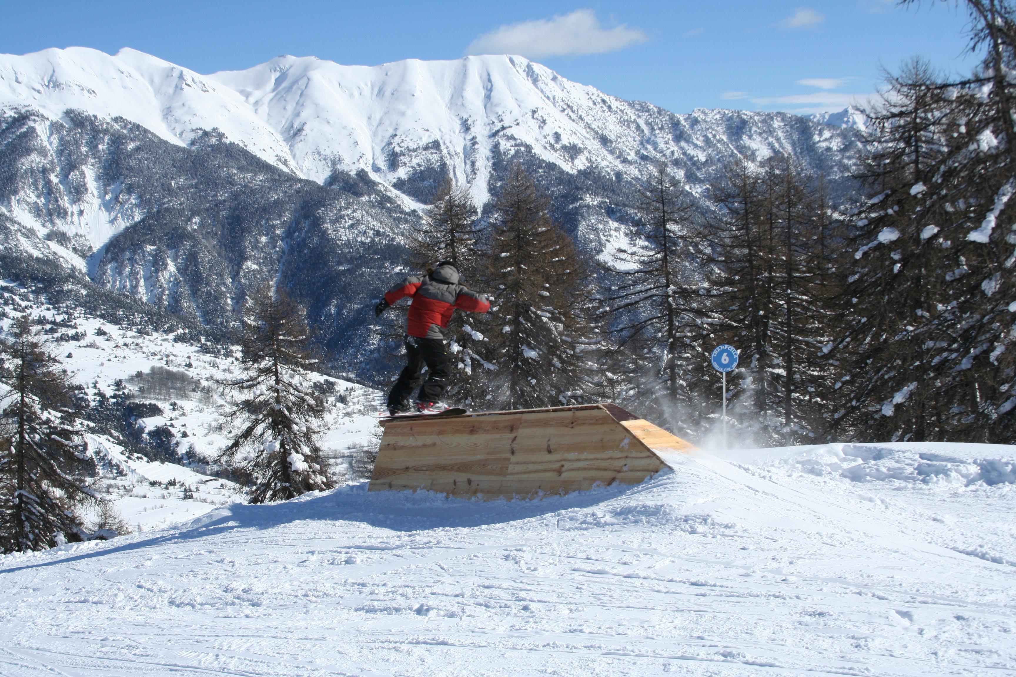 Serre Chevalier, station de ski