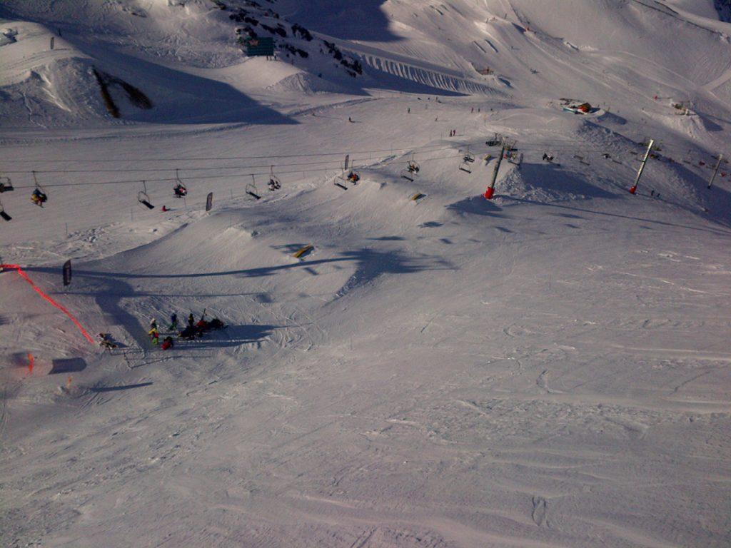 Vue sur le snowpark (©bertconcepts)