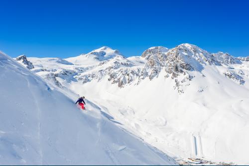 Tignes, station de ski