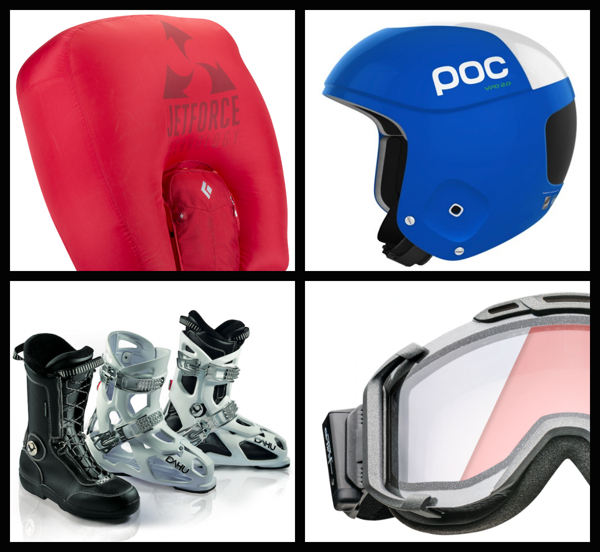 Innovations, Black Diamond, POC, DAHU, UVEX