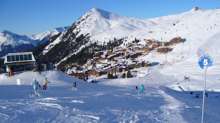 Belle Plagne (©James Preston)