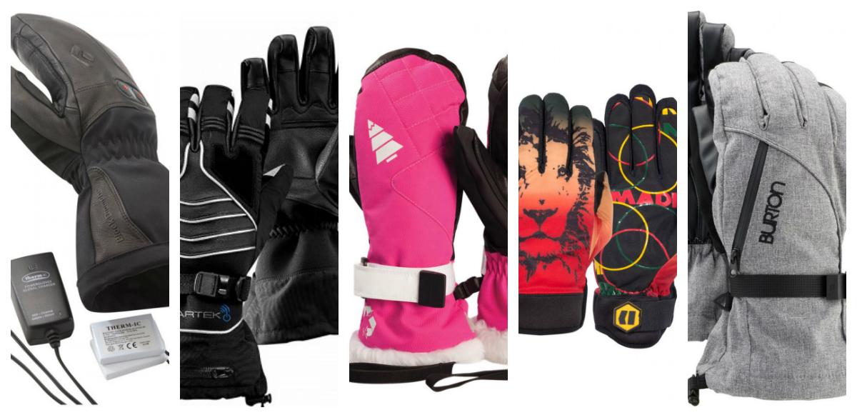 Gant de ski, Black Diamond, Beartek, Picture Organic Clothing, Armada, Burton
