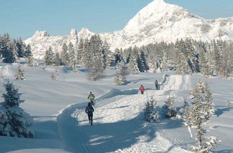 Le trail blanc, c'est bien