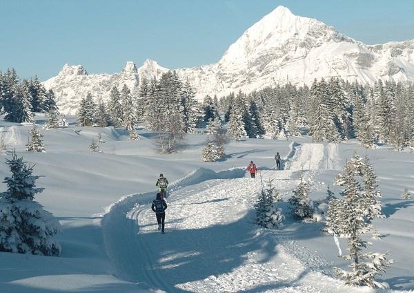 Trail Blanc Les Saisies