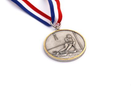 Médaille ski