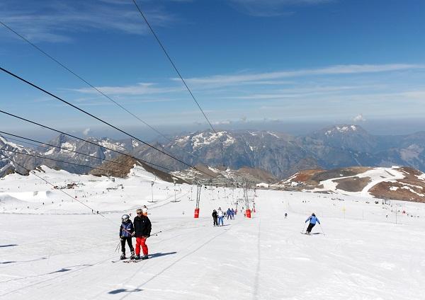 ski d'été les deux alpes