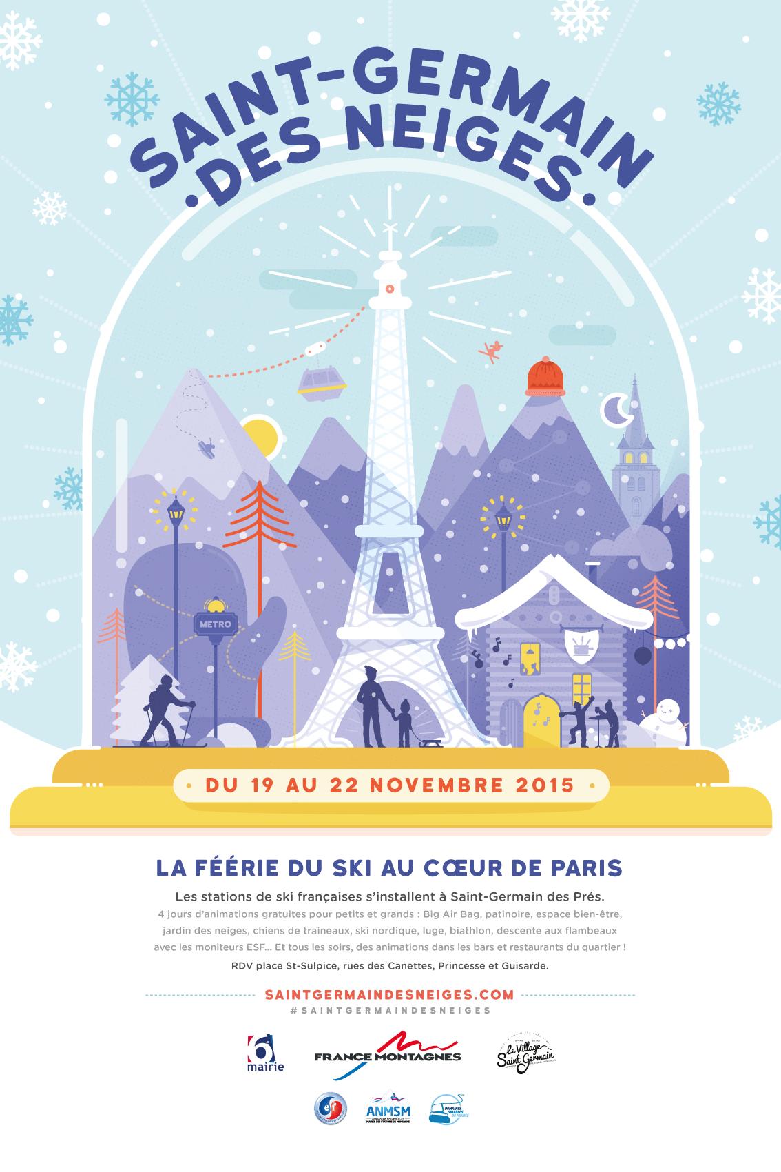 Saint Germain des neiges 2015 - France Montagnes