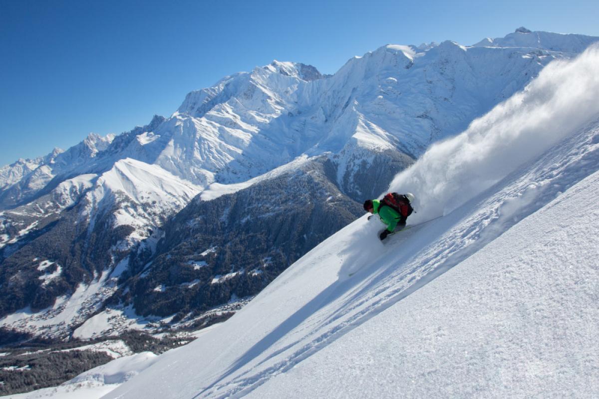 Le ski à Megève - Photo : Megève Tourisme - DDD
