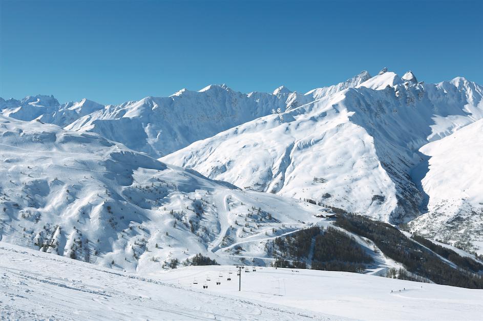 Pistes de ski de Valloire @ OT Valloire - Crédit photo : P. Delannoy