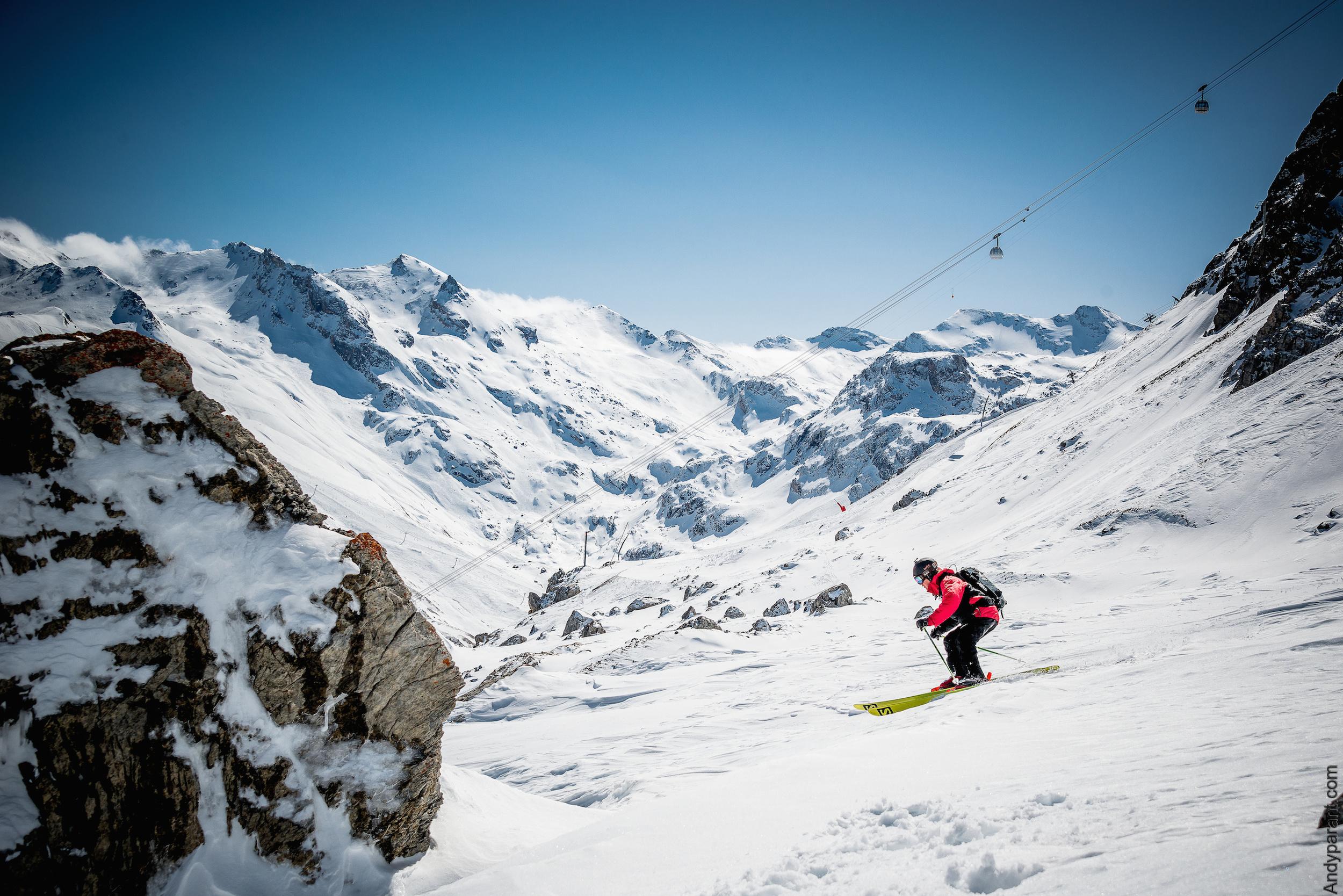 Pistes de ski de Val d'Isère © Val d'Isère -Andyparant.com