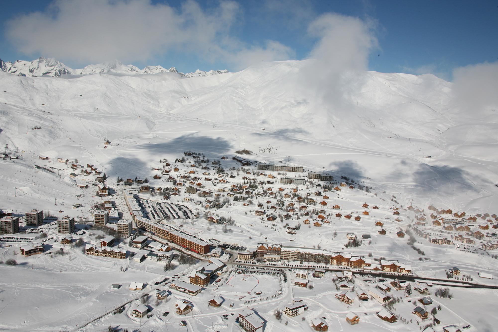 Station de ski La Toussuire -Crédit photo : OT La Toussuire & Clic-clac photo