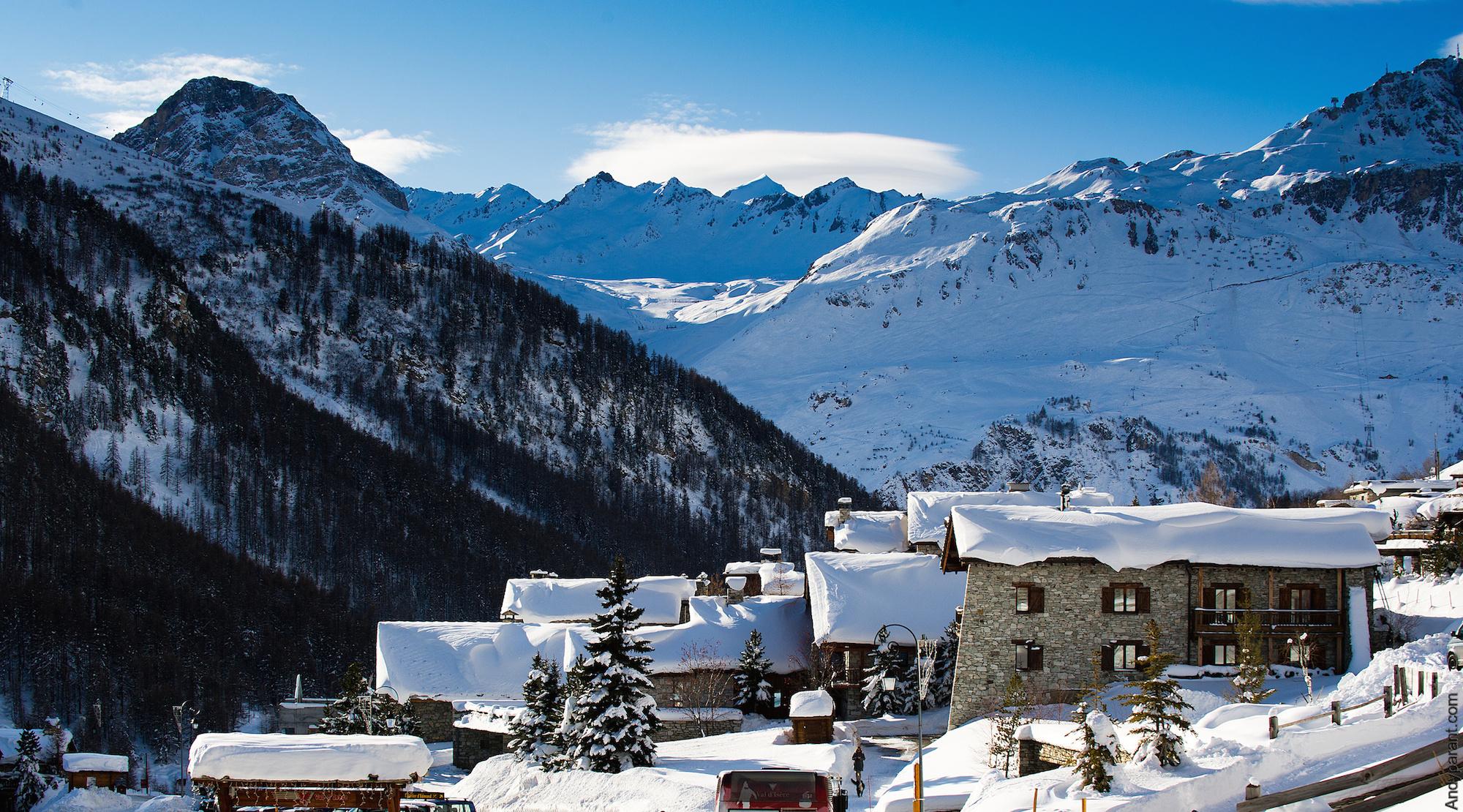 Station de Val d'Isère © Val d'Isère - Andyparant.com
