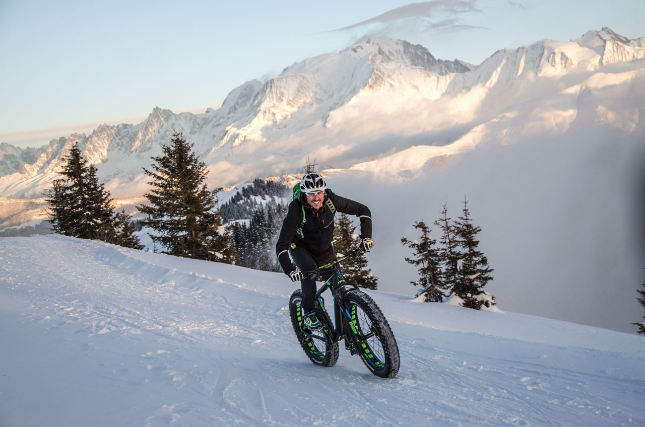 Fat Bike à la Giettaz en Aravis