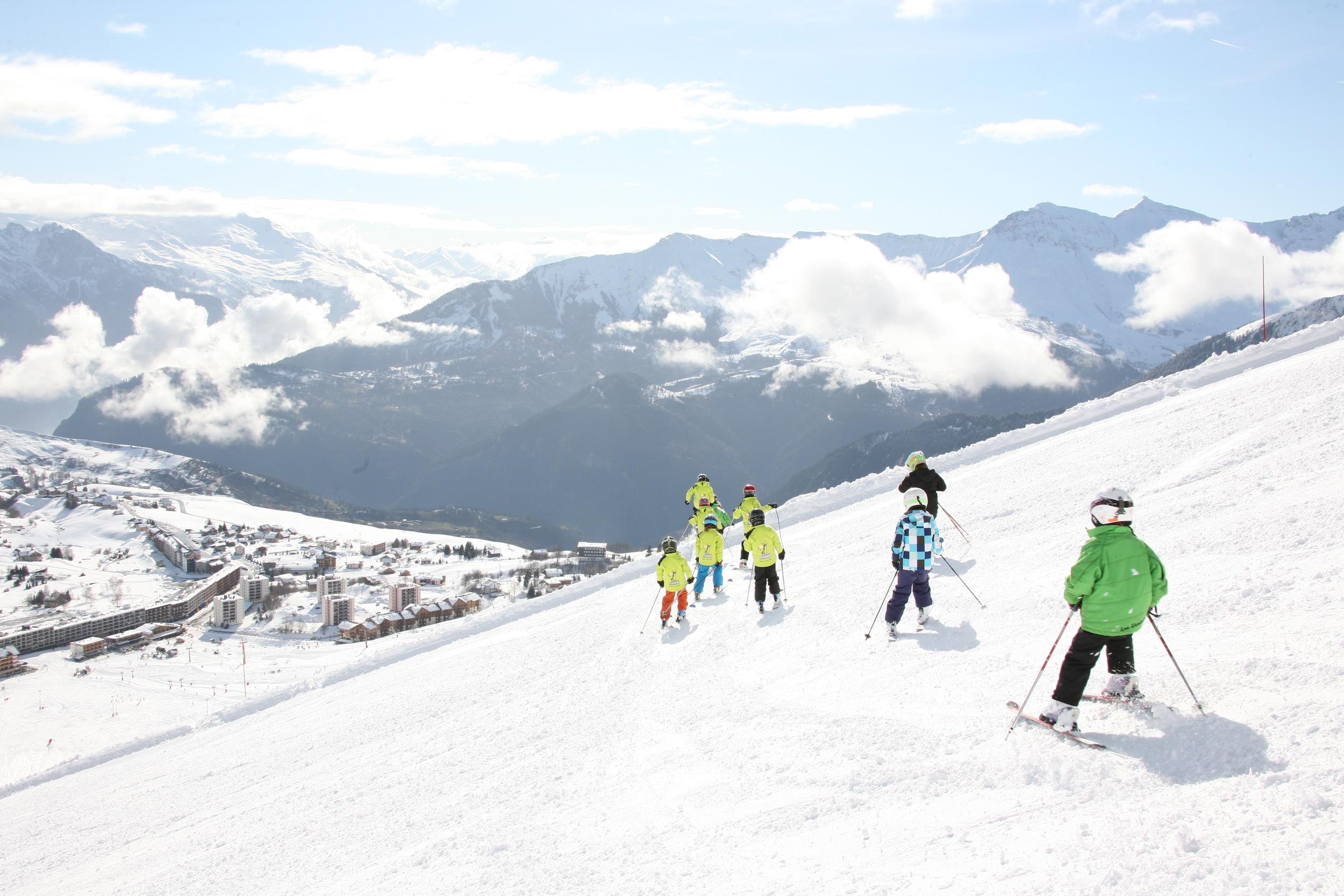 Pistes de ski La Toussuire - Crédit photo : OT La Toussuire & clic-clac photo