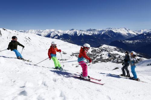 Station de ski La Toussuire - Crédit Photo : Christophe Pallot Agence Zoom