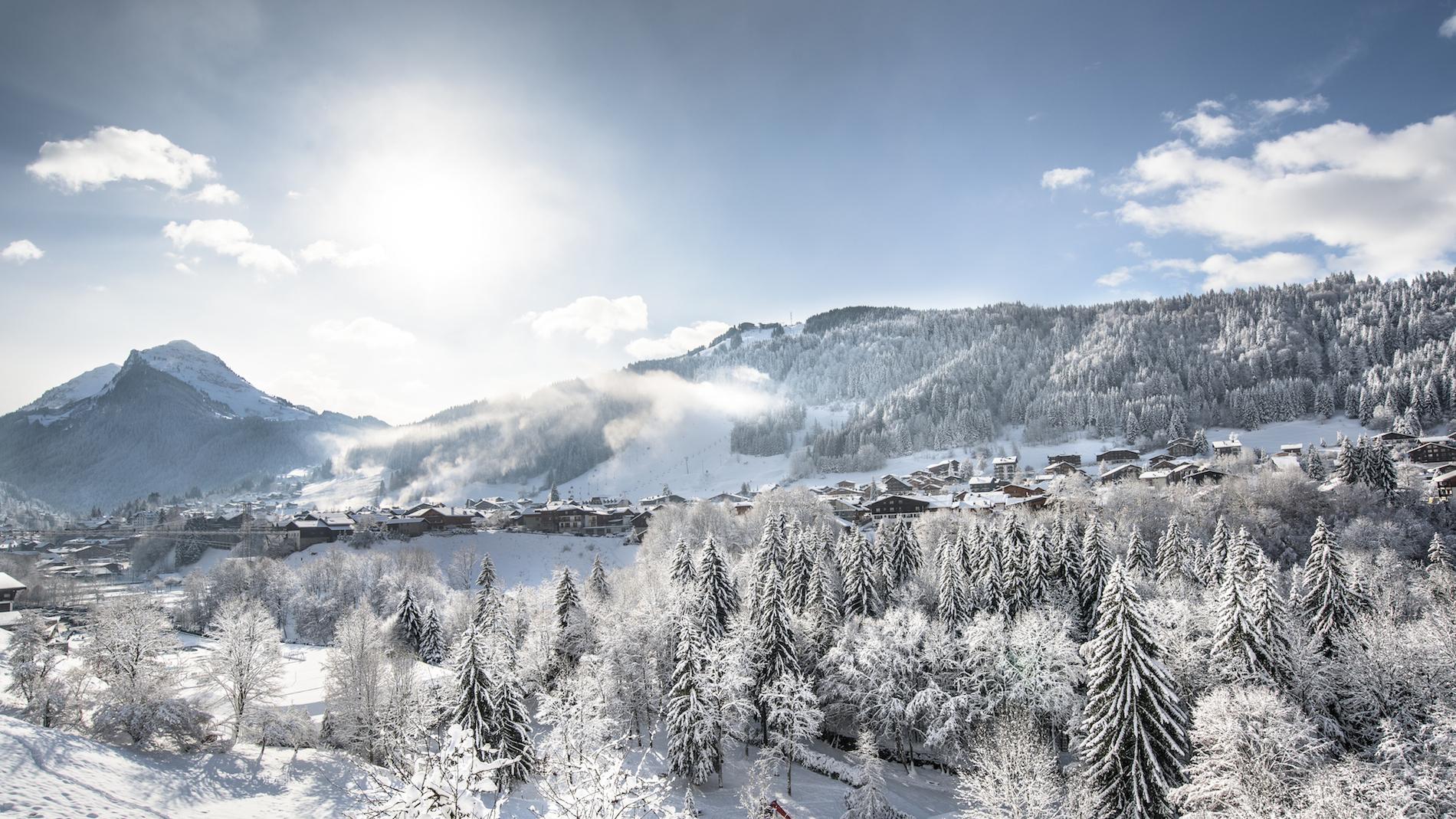 Station de ski de Morzine - Crédit photo : OT Morzine/JBBieuville