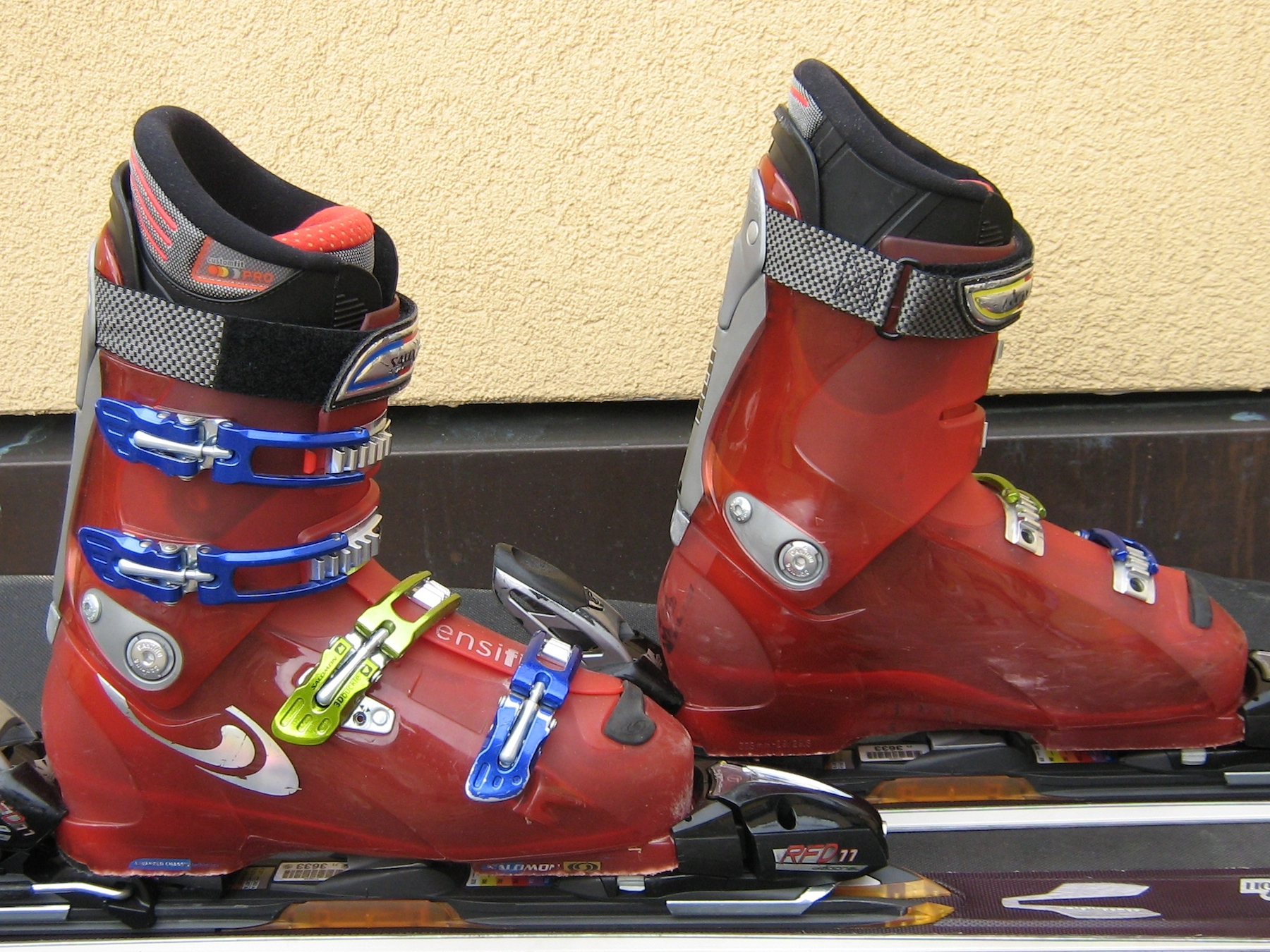Chaussures de ski Salomon - Crédit photo : Salomon