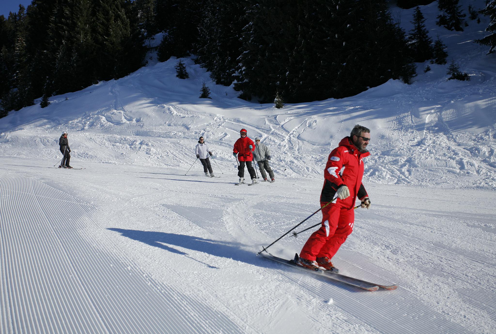 Cours de ski collectif Avoriaz - Gilles Gallas - Avoriaz Tourisme