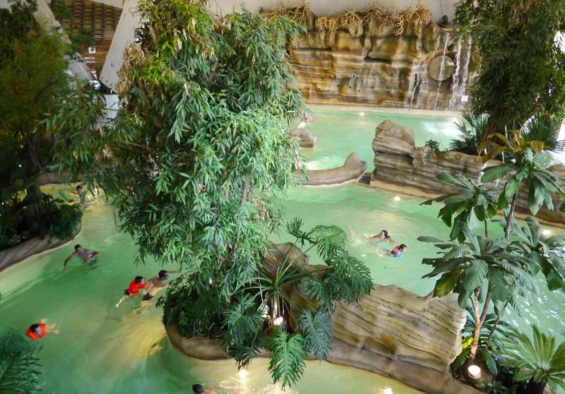Aquariaz : détente et jeux aquatiques Crédit photo : ©V. Dupé – Avoriaz Tourisme