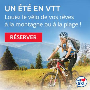 Cet été, louez votre vélo avec INTERSPORT