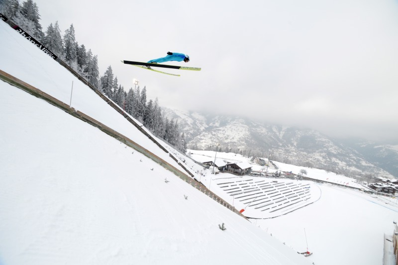urélien Ducroz, Saut à ski. Crédits - Aurélien Ducroz