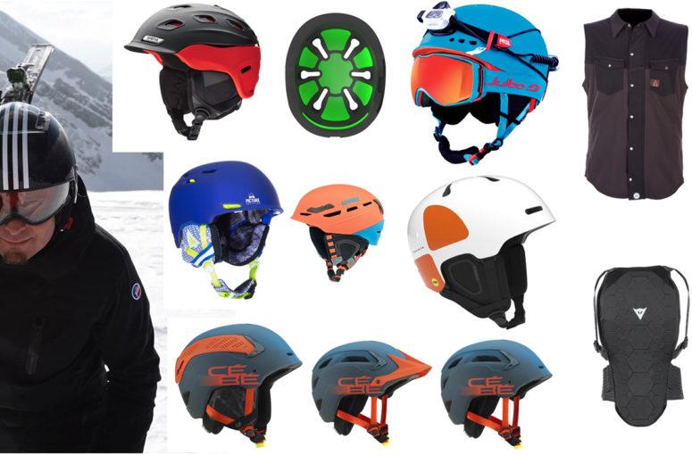 Gardes du corps : casques, masques, dorsales, les tendances pour 2016/2017