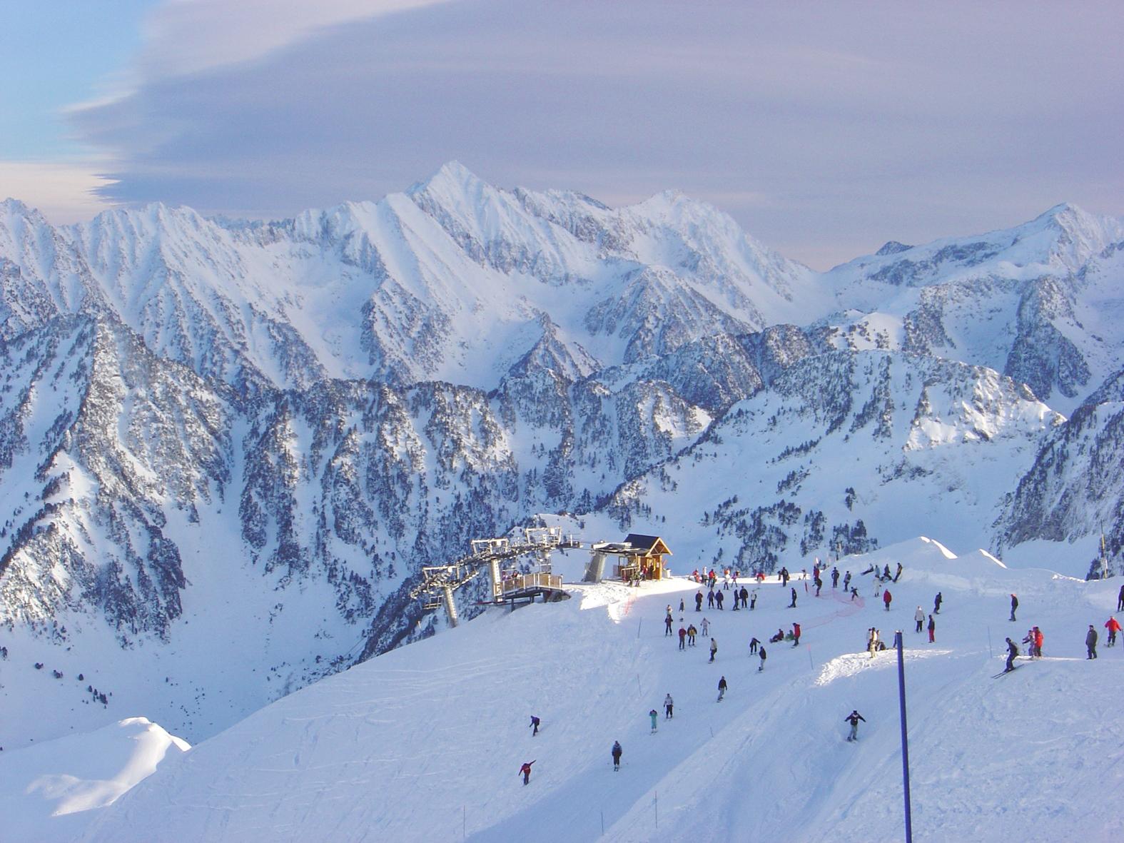 Cauterets le guide de la station we love ski - Office de tourisme cauterets ...