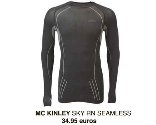 Mc Kinley gamme Seamless (sans couture) - 78% polyamide-22% polyester – 34,99 € (existe en femme)