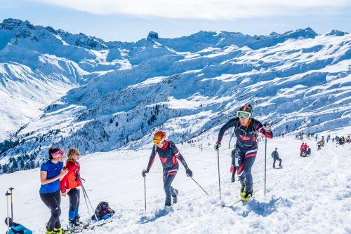 Course de ski-alpinisme