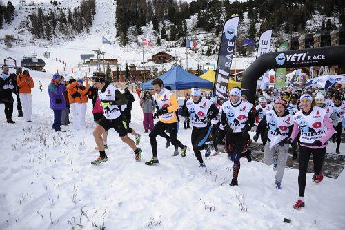 Etoiles du Sport 2014 à La Plagne, 13e édition. Yéti Race