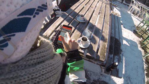 Application mobile Saint-Gervais Mont-Blanc proposant différentes fonctionnalités (@Ski-digital_Credit-DR-3)