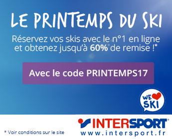 Réservez votre matériel de ski et de snowboard maintenant avec INTERSPORT, le numéro 1 de la location de ski en ligne