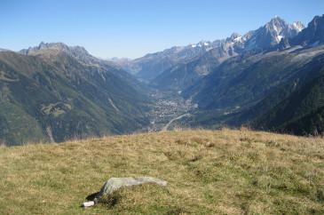 Vue de la vallée depuis le Mont Lechat (©Suzanne)
