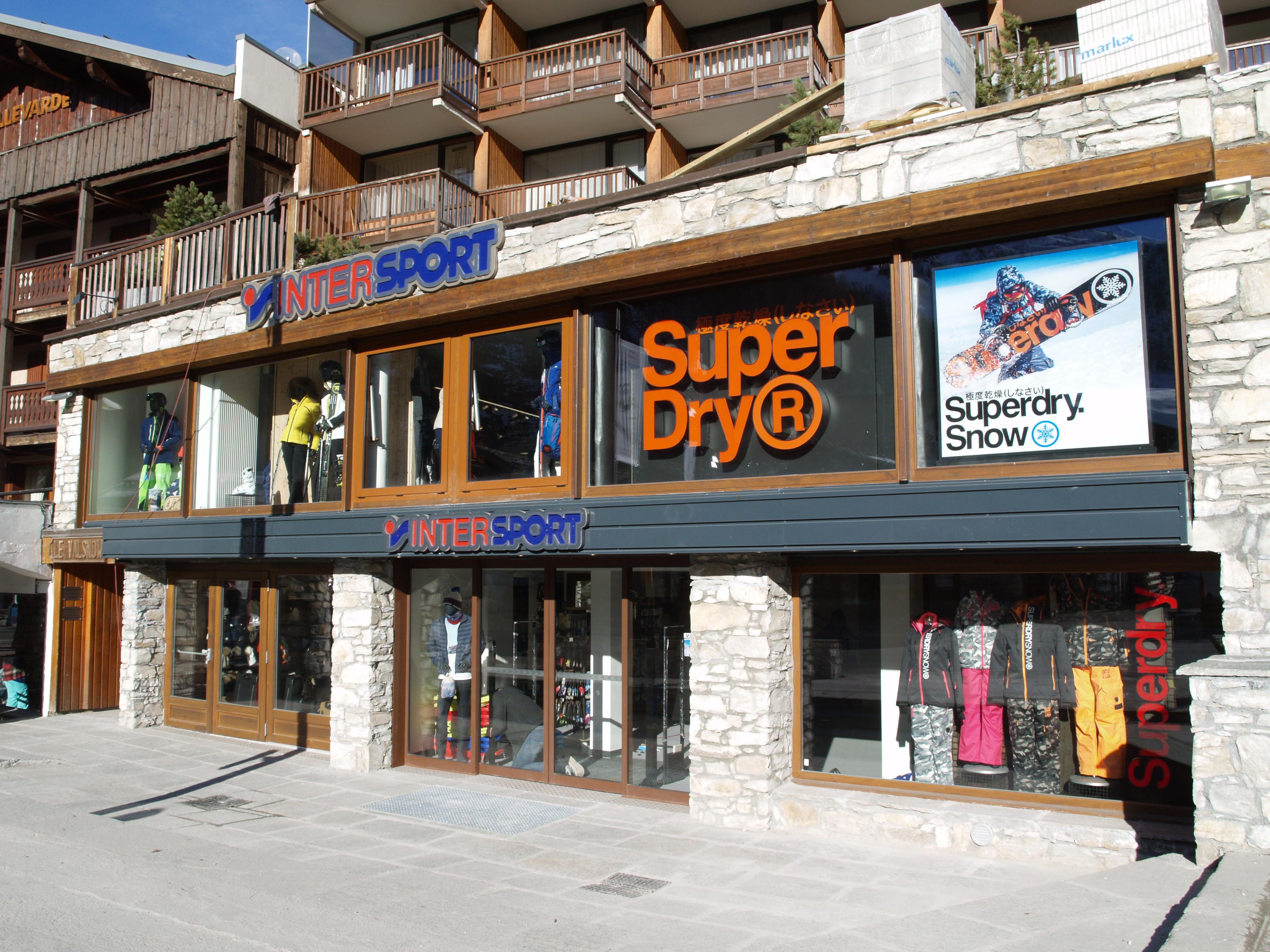 Le magasin Val Snow à Val d'Isère