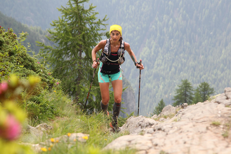 Marie Dohin sur les 80km du Mont-Blanc (®maindru photo)