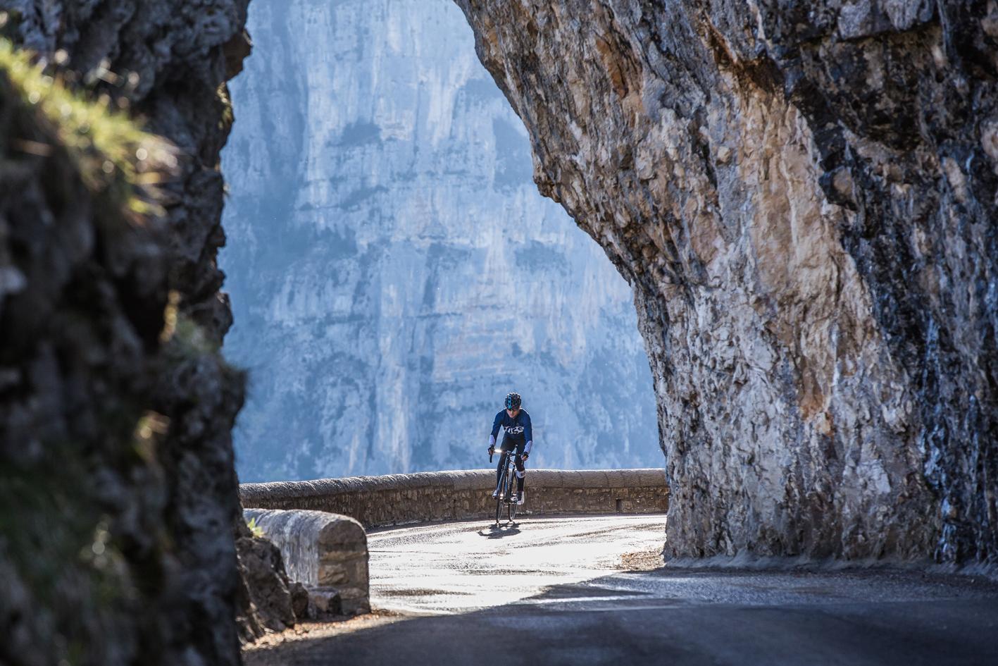 Cyclisme (Rossignol) au Col de la Machine dans le Vercors (Vanessa Andrieux)