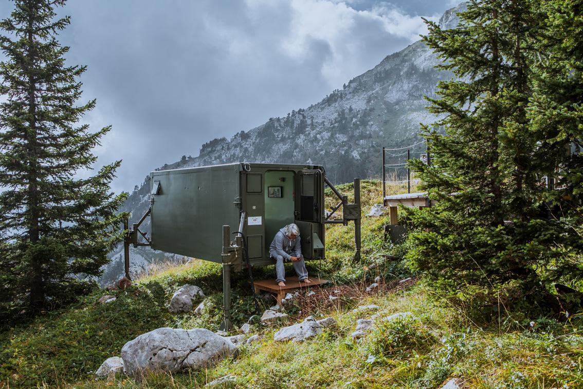 Nuit dans un shelter à Sambuy à 1830 mètres d'altitude (Vanoise)