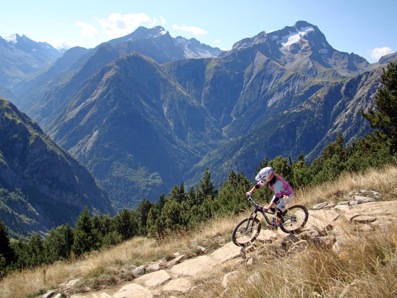 Lucy Paltz at les Deux Alpes