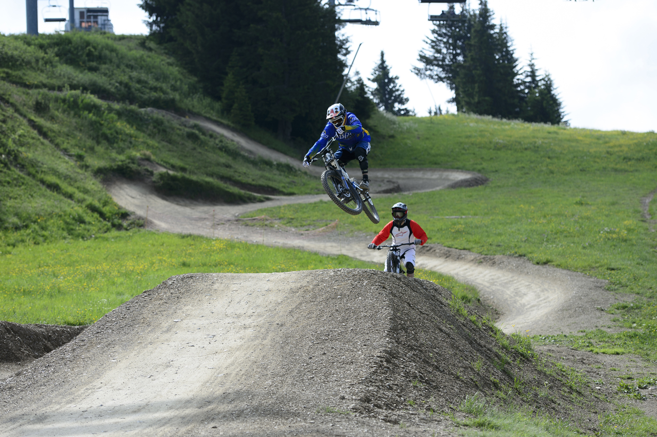 Some jumps...