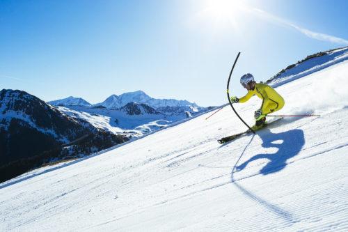 Julien Lizeroux en slalom ©Elina Sirparanta