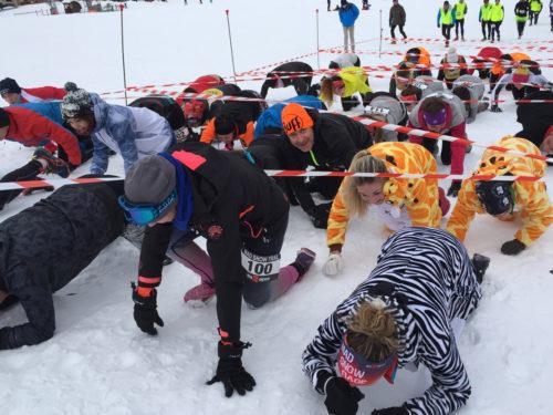 Mad Snow Race - Les Deux Alpes - ®Office de Tourisme Les 2 Alpes© Sébastien Roger