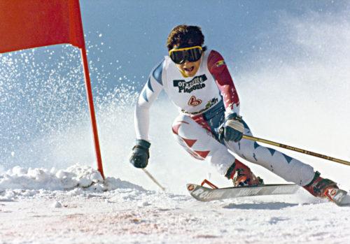 Perrine Pelen en Slalom Géant à San Sicario (ITA) - © AGENCE ZOOM