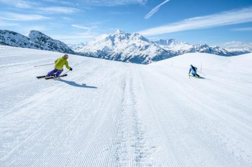 Top 10 des plus beaux domaines skiables de France - Domaine de La Rosière